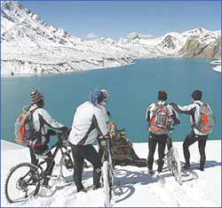 Mountain Biking In Ladakh in Leh Ladakh