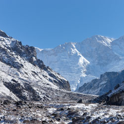 Mountain Trekking in Kanchenjunga in Ravangla