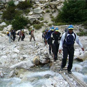 Mountain Trekking in Gangtok