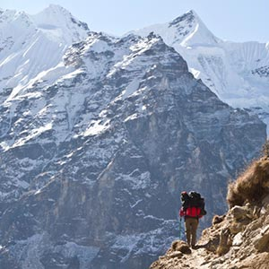 Mountain Trekking in Kanchenjunga