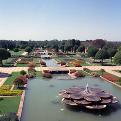 Mughal Garden in New Delhi