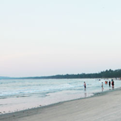 Muzhappilangad Beach in Kannur
