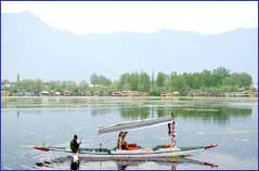 Nagin Lake in Srinagar