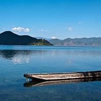 Namtso Lake in