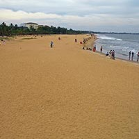 Negombo Beach in