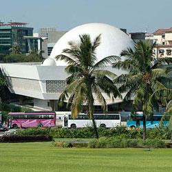 Nehru Planetarium in