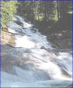 Nellie Falls in Nebraska