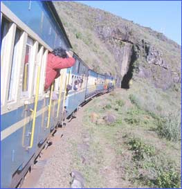 Nilgiri Mountain Railway in Nilgiris