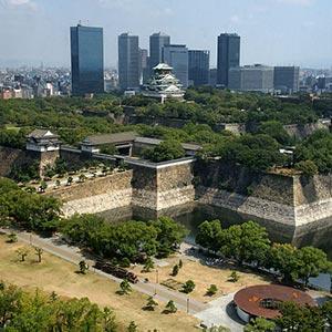 Osaka Castle Park in Osaka