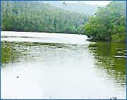 Pakhal Lake in Guntur