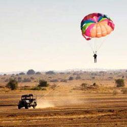 Paragliding in Jaipur in Jaipur
