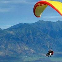 Paragliding in Kamshet in Lonavala