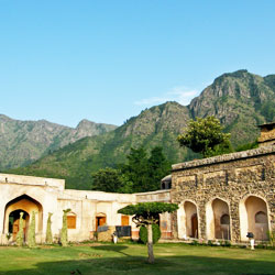 Chashma Shahi and Pari Mahal in Srinagar