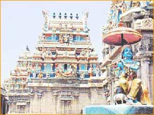 Parthasarathy Temple in Chennai