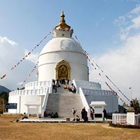 Peace Temple in Pokhara