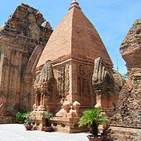 Po Nagar Cham Towers in Nha Trang
