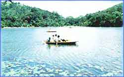 Pookot Lake in Wayanad