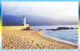 Propriano Beach in Bareges