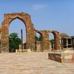 Quwwat Ul Islam Mosque in New Delhi