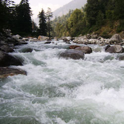 Rahala Waterfalls in Manali