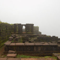 Raigad Fort in Raigad