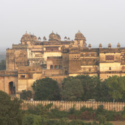 Raj Mahal in Orchha