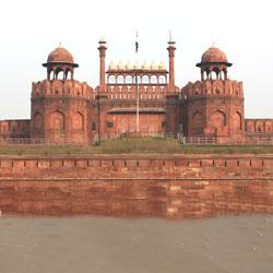 Red Fort of Delhi in New Delhi