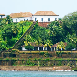 Reis Magos Fort in Goa City