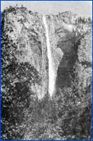 Ribbon Fall (Mariposa) in California
