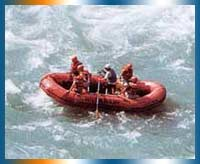 River Rafting in Sikkim in Gangtok