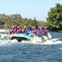 River Rafting in Sikkim in