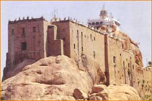 Rock Fort Temple