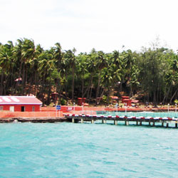 Ross Island in Port Blair