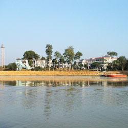 Rudrasagar Lake in Agartala