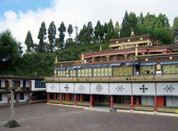 Rumtek Monastery in