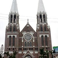 Saint Mary's Cathedral in Yangon