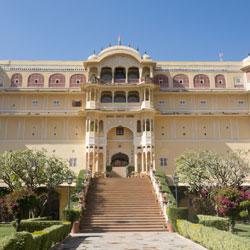 Samode Palace in Samode