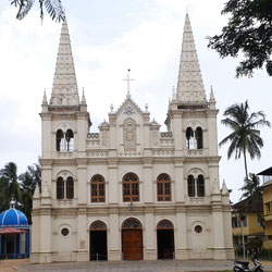 Sant Cruz Baslica Church in Kochi