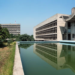 Secretariat Building in Chandigarh