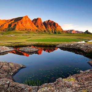 Sehlabathebe National Park in Qachas Nek District