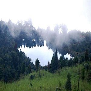 Senchal Lake in Darjeeling