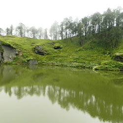 Seruvalsar Lake in Kullu