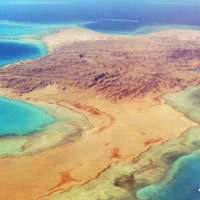 Shadwan Island in