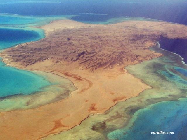 Shadwan Island in Sharm el-Sheikh