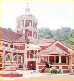 Shantadurga Temple in Goa City