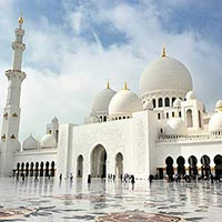 Sheikh Zayed Grand Mosque Center in