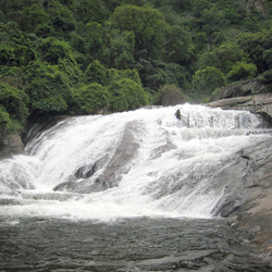 Siruvani Waterfalls in