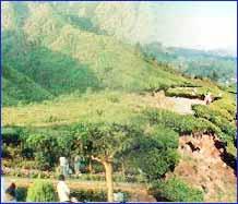 Srinagar Hills in Srinagar