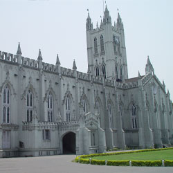 St Pauls Cathedral in Kolkata