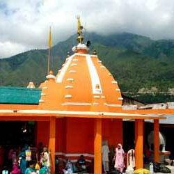 Sudh Mahadev Temple in Patnitop